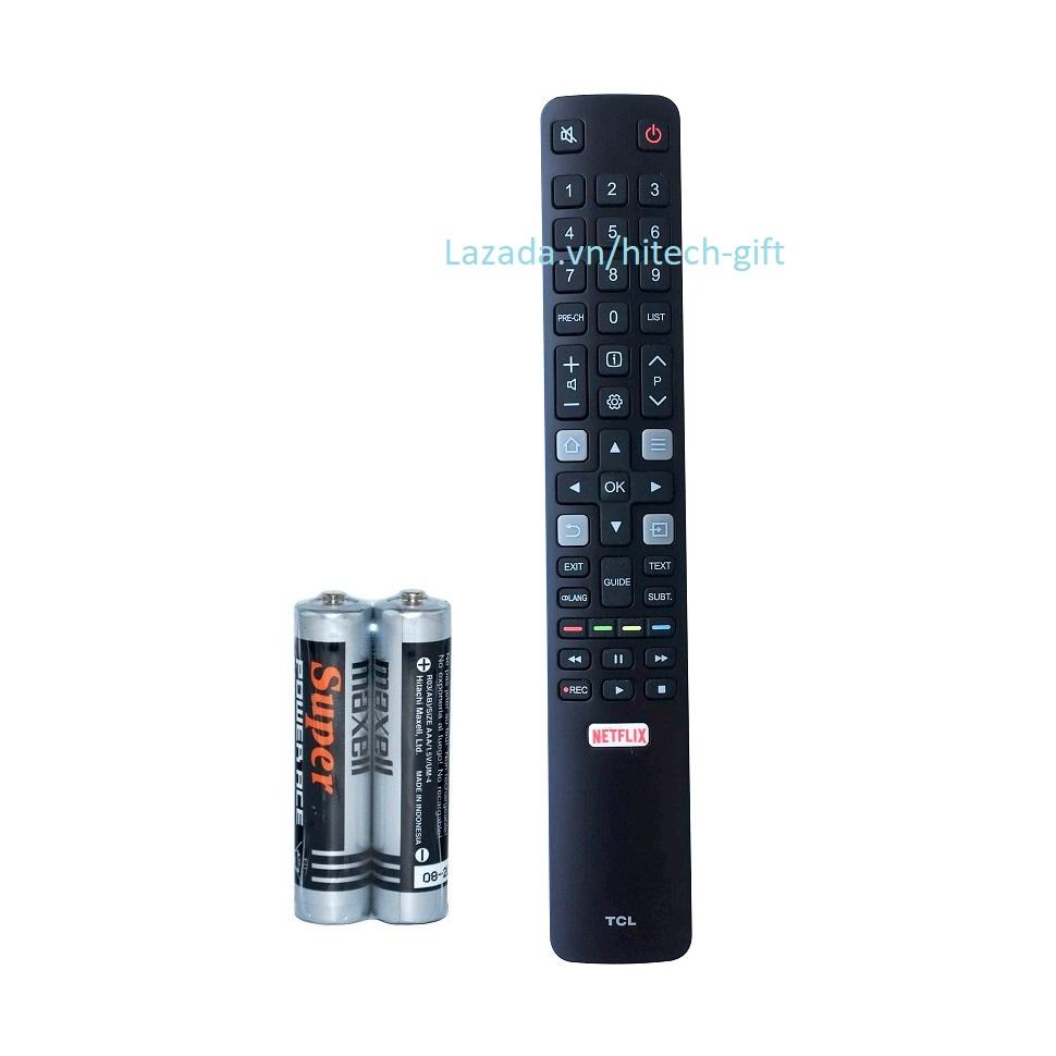Bảng giá Remote Điều Khiển Smart TV, TV Thông Minh TCL Netflix (Kèm Pin AAA Maxell)