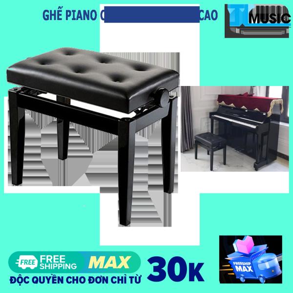Ghế đàn piano cơ nâng hạ chiều cao GHC01