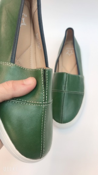 💖 FREESHIP 💖 Giày Mọi Nữ Da Bò Thật Dáng Năng Động Trẻ Chung (Nu112-Xa) giá rẻ