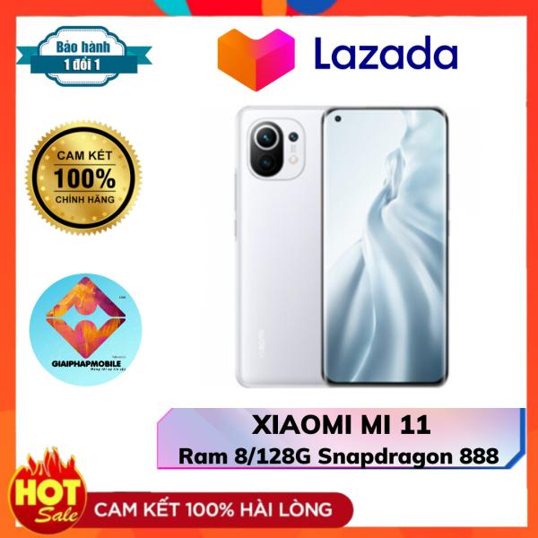 XIAOMI MI 11 Fulbox Ram 8/128G chip khủng snapdragon 888
