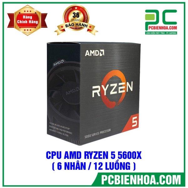 Bảng giá [Trả góp 0%]CPU AMD Ryzen 5 5600X (32MB / 3.7GHz Boost 4.6GHz / 6 nhân 12 luồng) Phong Vũ