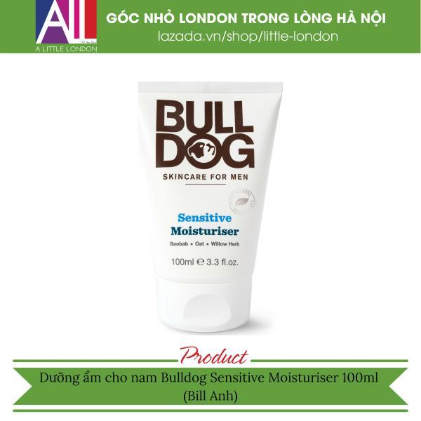 Dưỡng ẩm cho nam Bulldog Sensitive Moisturiser 100ml (Bill Anh) giá rẻ