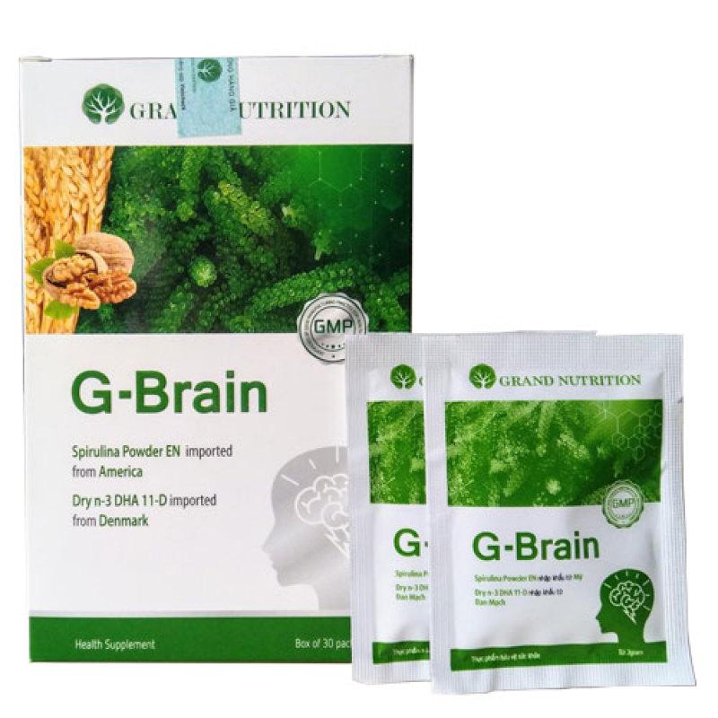 {Tặng khóa học} Cốm sữa tảo non G-Brain - Hỗ trợ bổ sung DHA, các Vitamin hỗ trợ phát triển não bộ cho trẻ