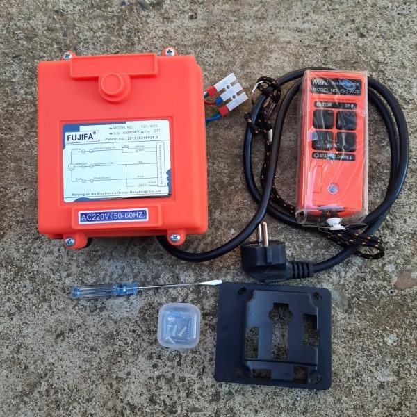Điều khiển tời từ xa lắp cho tời chạy điện 1 PHA, chyên dùng cho tời PA, KCD...