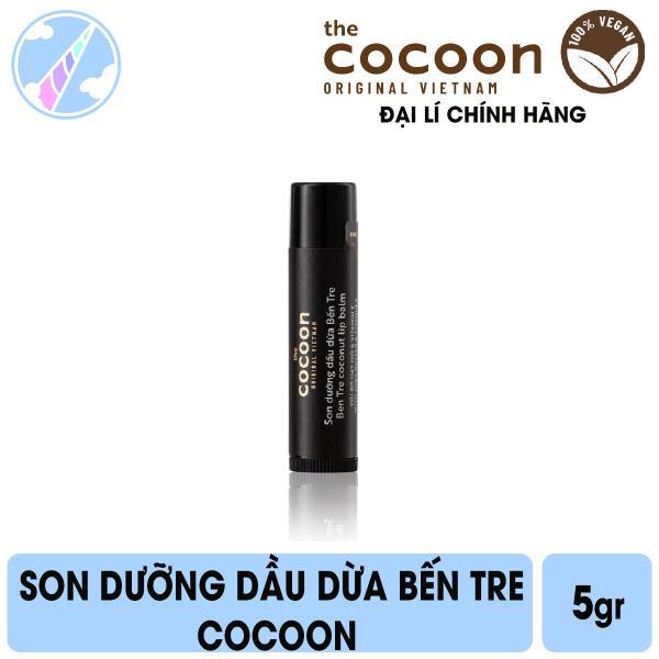 Son Dưỡng Dầu Dừa Bến Tre Cocoon 5g cao cấp