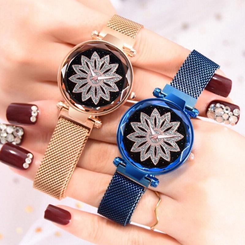 Nơi bán Đồng hồ thời trang nữ Candycat dây lưới nam châm QA9872