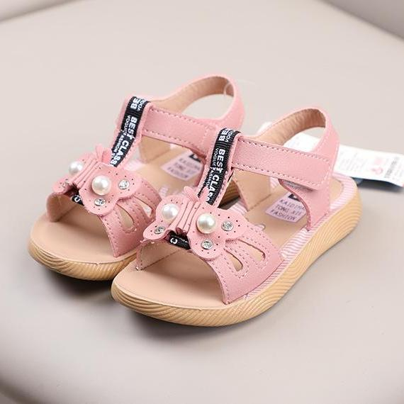 Giá bán sandal bé gái size 21-25 da mềm năm 2019 mã 0328022019