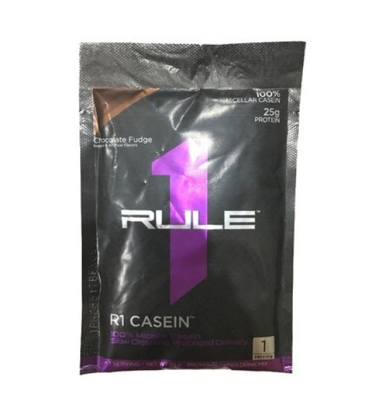 Gói thử whey protein Rule 1 Casein sample 34g Chocolate nhập khẩu