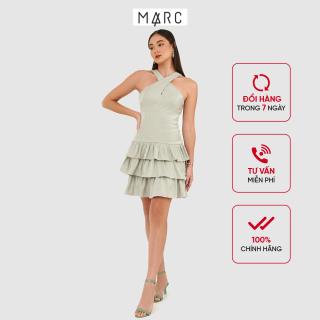 Đầm nữ MARC FASHION đắp chéo bèo 3 tầng thumbnail