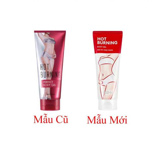 Kem tan mỡ Missha Hot Burning Perfect Body Gel Hàn Quốc