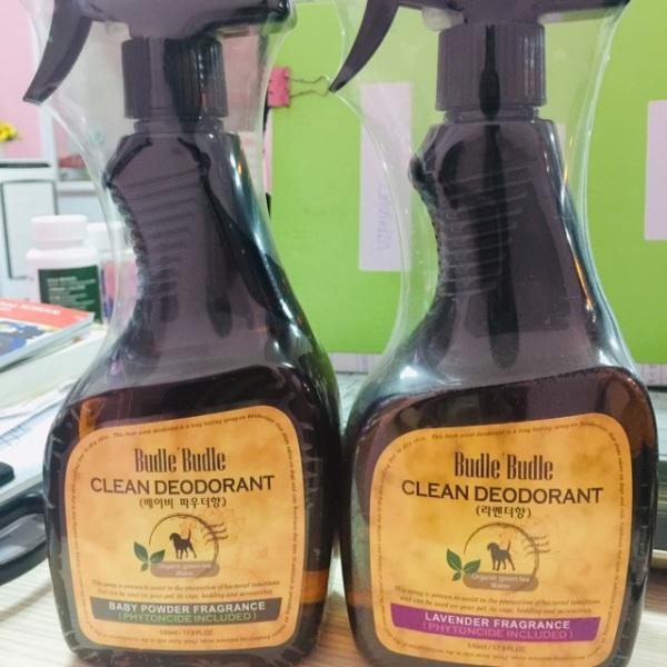 Xịt khử mùi dưỡng lông Budle' Budle Clean Deodorant 530ml, chất lượng đảm bảo an toàn đến sức khỏe người sử dụng, cam kết hàng đúng mô tả