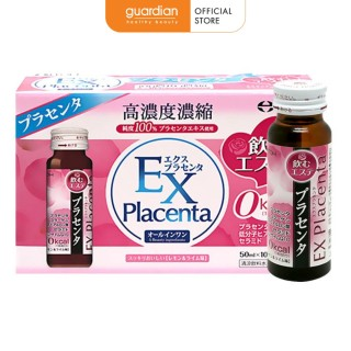 Nước uống nhau thai cừu từ Nhật Bản EX Placenta (50 ml x 10 chai) thumbnail