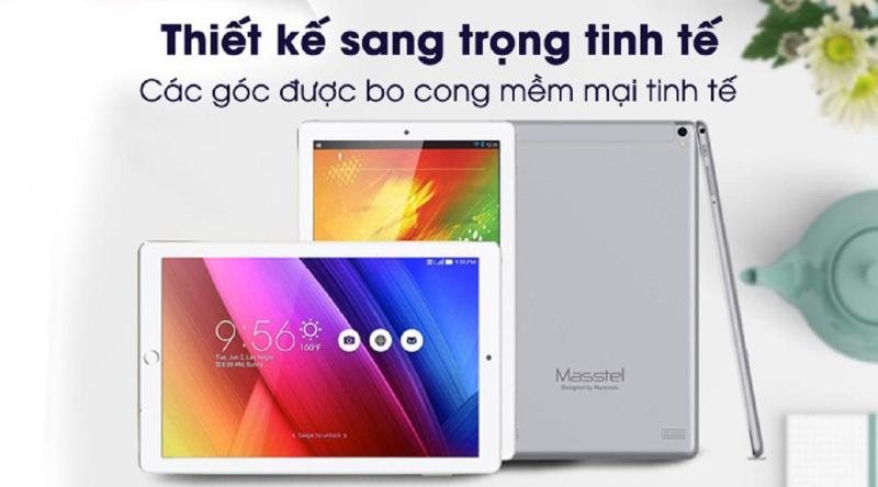Máy tính bảng Masstel Tab 10 Pro - Ram 2GB Rom 16GB tặng kèm bao da mới nguyên seal