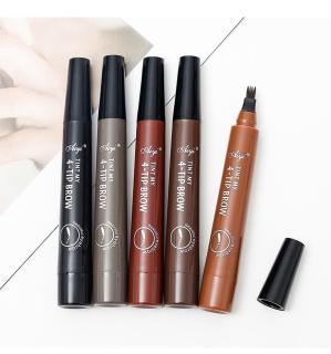 Bút chì vẽ lông mày phẩy sợi 4D- cho lông mày đậm và đẹp hơn thumbnail