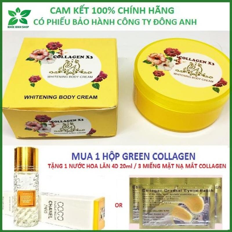 [Chính Hãng] Kem body collagen x3 - có phiếu bảo hành công ty