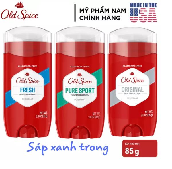 Lăn sáp khử mùi nam Old Spice đỏ 85g hương tươi mát - Mỹ giá rẻ