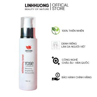 Nước hoa hồng Linh Hương Toner làm sạch sâu se khít lỗ chân lông, dưỡng ẩm cân bằng làm sạch dành cho mọi loại da 100ml thumbnail