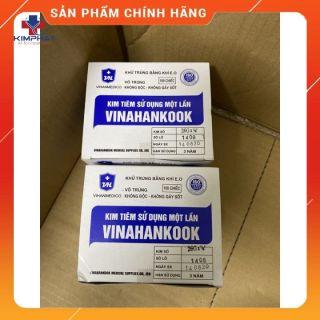 Hộp 100 kim tiêm Vinahankook [Đầu kim 18G - 26G] thumbnail