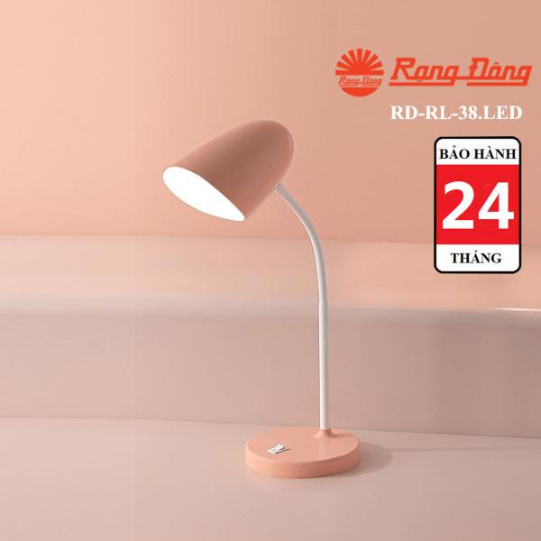 Đèn học LED chống cận thị Rạng Đông 6W, công nghệ LED SUNLIKE giúp ánh sáng như ánh sáng tự nhiên (RD-RL-38.LED)