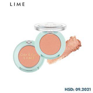 Phấn Mắt Nhũ Thời Thượng Lime Color & Eyes Single Shadow 1.4g, mang đến cho bạn đôi mắt đẹp lấp lánh với sắc tố màu cao thumbnail
