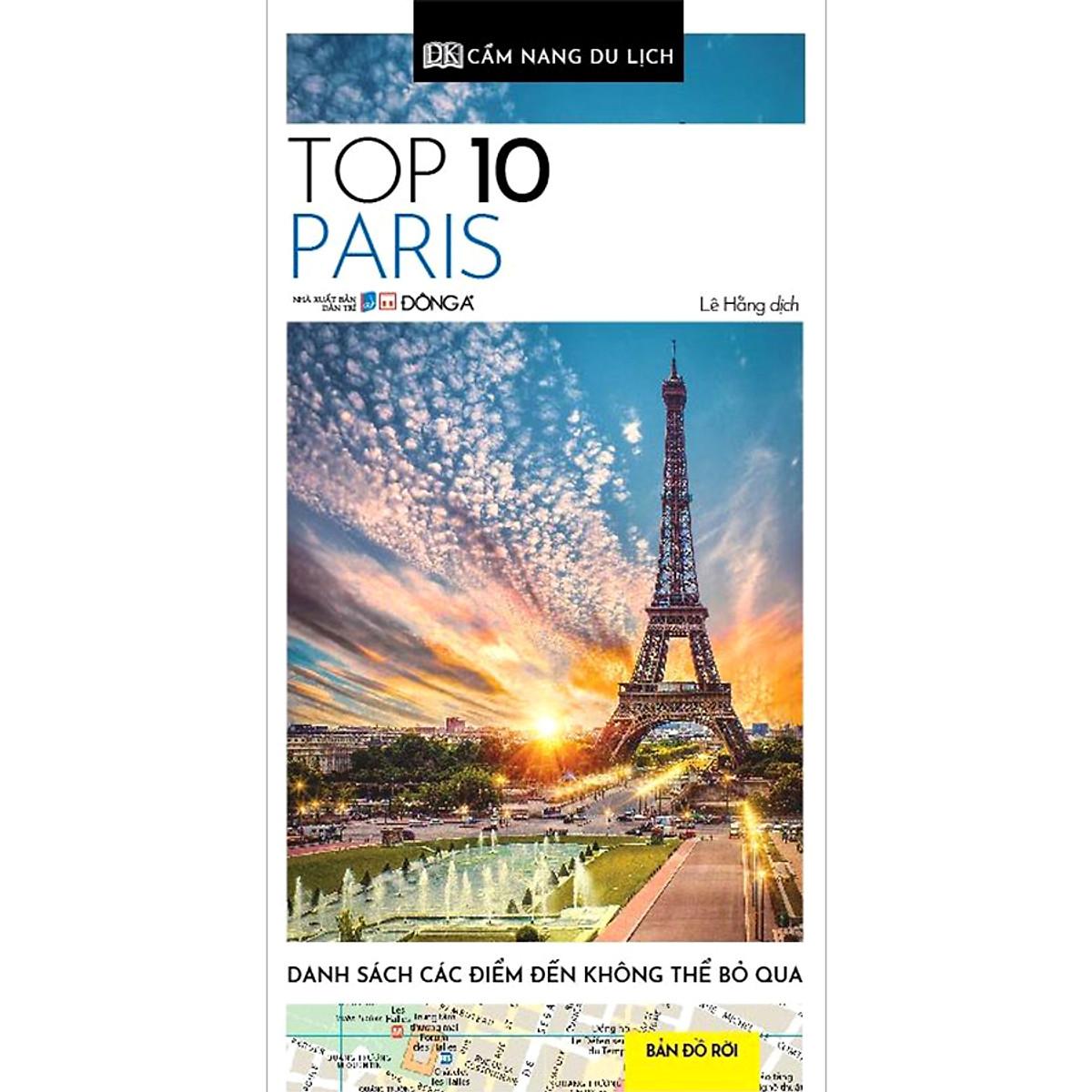 Mua Cẩm Nang Du Lịch - Top 10 Paris
