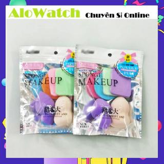AloWatch Set 6 Bộ Mút Tán Kem Nền Makeup thumbnail