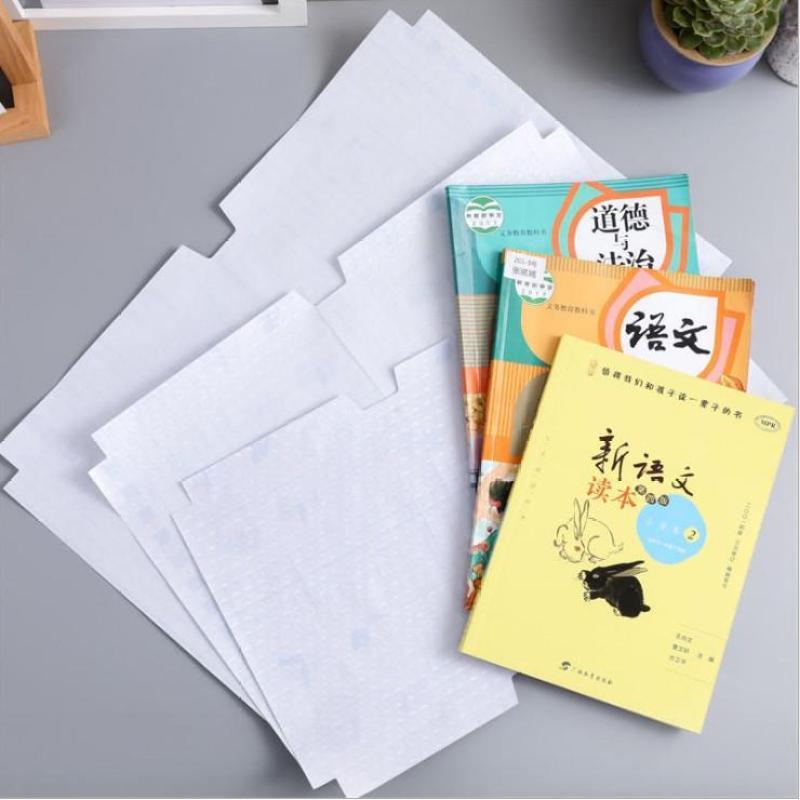 Mua Set 10 tờ decal trong suốt bọc sách vở cho bé, đồ dùng học tập, bọc sách vở, dụng cụ học tập, Tuancua