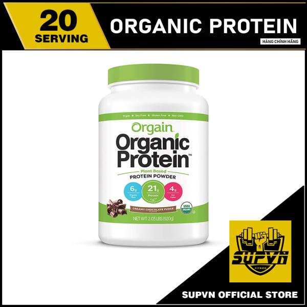 Orgain Organic Protein 920g - Sữa Protein hữu cơ, đạm thực vật Orgain Organic Plant Based Protein Powder