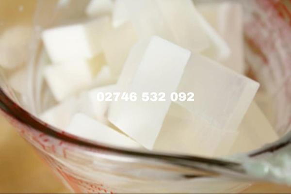 100G Phôi Xà Phòng Glycerin Trắng Sữa - Làm Xà Phòng Đơn Giản Tại Nhà nhập khẩu