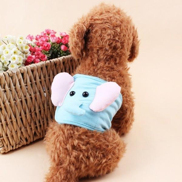 Tã Quần Sinh Lý Chó Đực Đa Màu Xudapet bằng thun cotton chống tràn - Xudapet - SP000544
