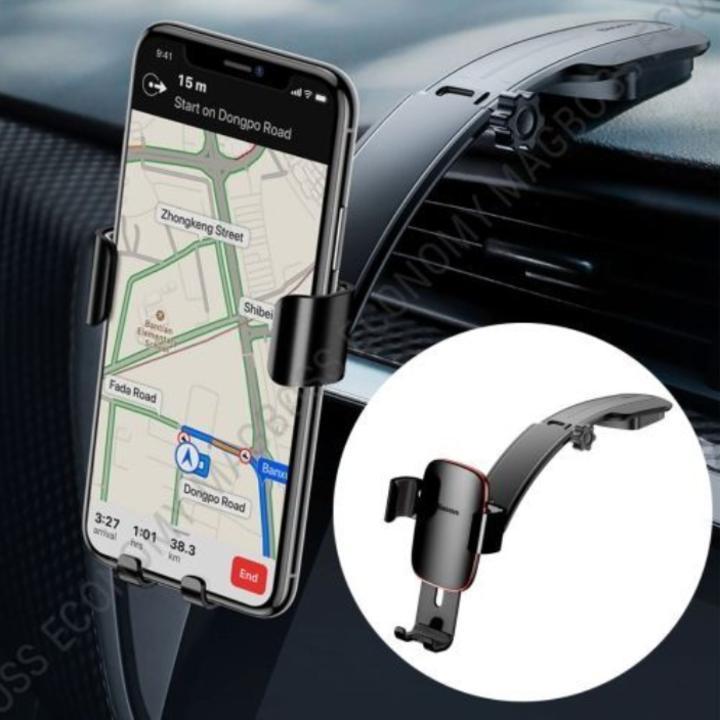 Gía đỡ điện thoại gắn taplo ô tô, xe hơi nhãn hiệu Baseus SUYL-F01