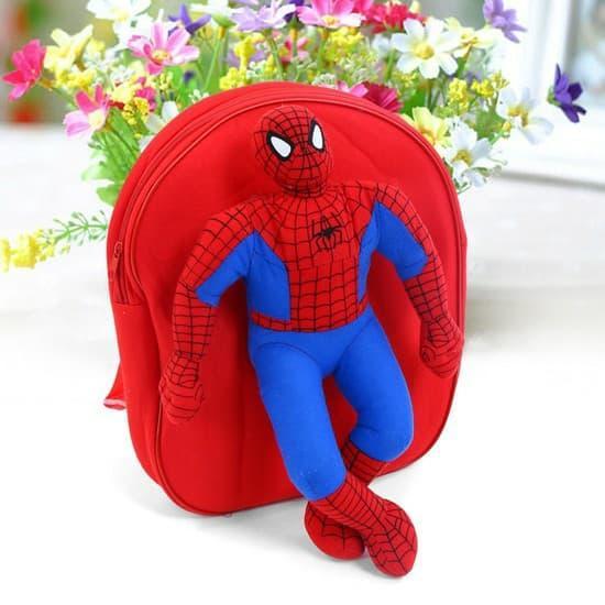 Giá bán Balo mẫu giáo người nhện cho bé trai