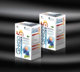 Hoạt huyết dưỡng não Ginko Nato 1200 Q10 France gruop với thành phần Ginkgo Biloba 360mg giúp giảm đau đầu, hoa mắt, chóng mặt, rối loạn tiền đình - Hộp 100 viên Ginkgo Biloba, cao đinh lăng, cao lạc tiên 3