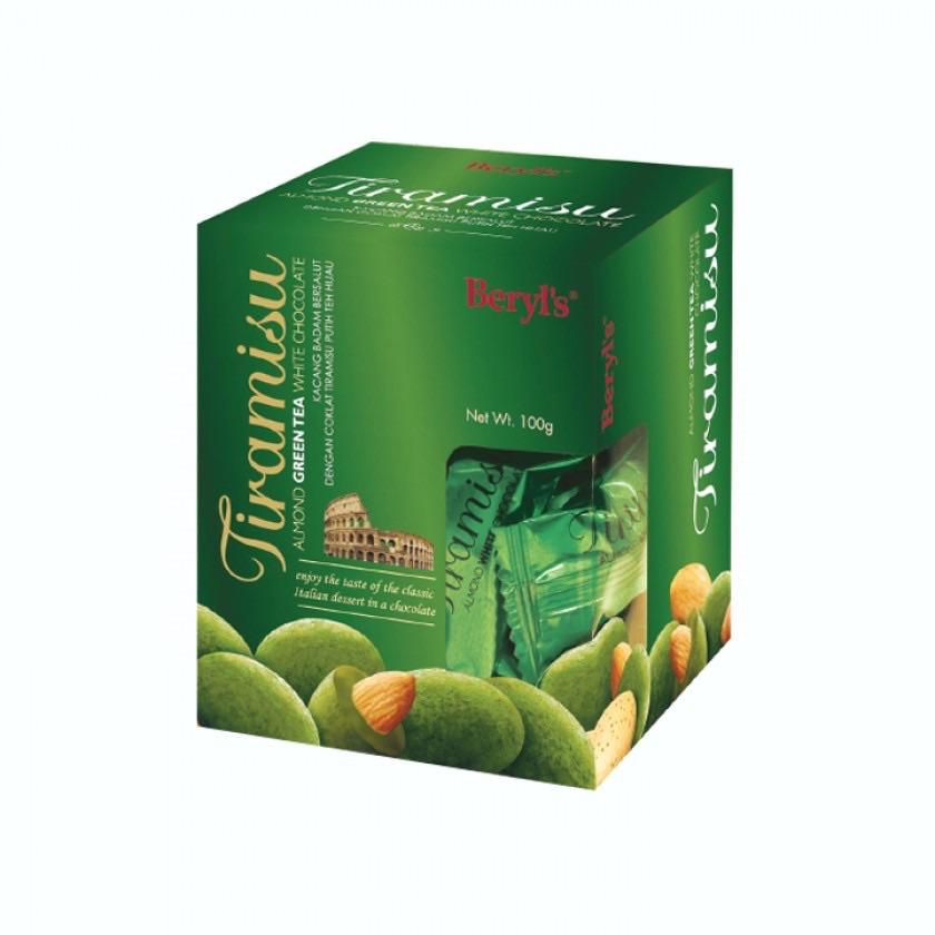 Chocolate Tiramisu green tea trà xanh Beryl