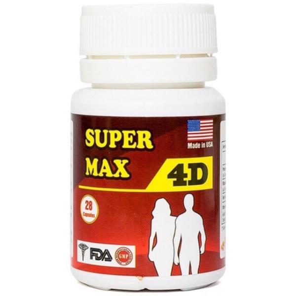 Tăng cân super max 4d chinh phục người gầy cao cấp