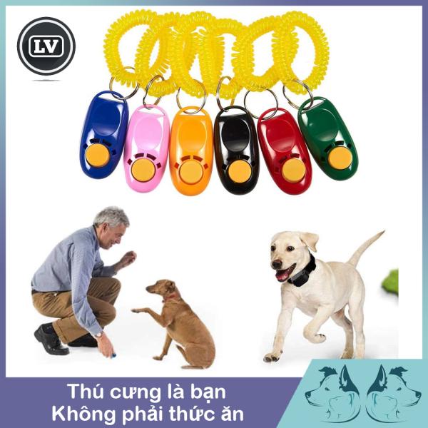 Clicker huấn luyện chó mèo Phụ kiện Long Vũ