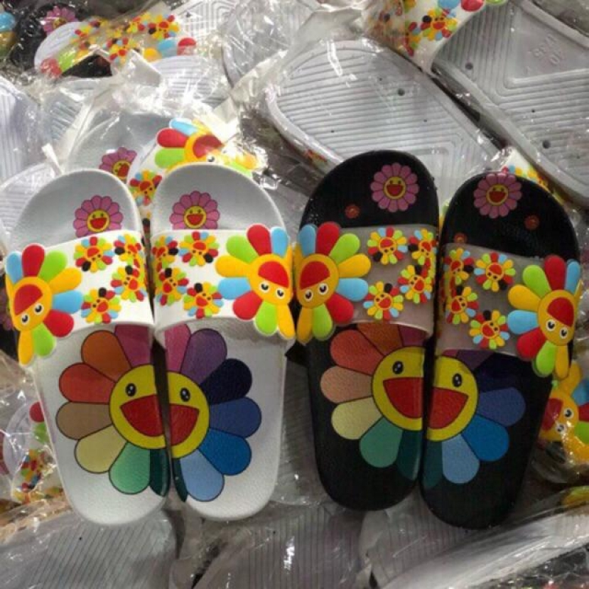 Dép quai ngang Nữ hoa mặt trời (ảnh thật shop chụp) giá rẻ