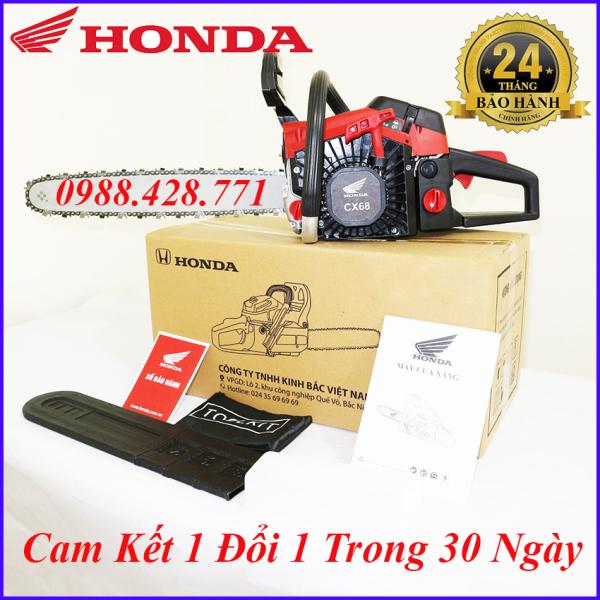 Máy Cưa Xích Honda CX68 Động Cơ 2 Thì Dùng Cắt , Khai Thác Gỗ- Bảo Hành 24 Tháng-1 Đổi 1 Trong 30 Ngày