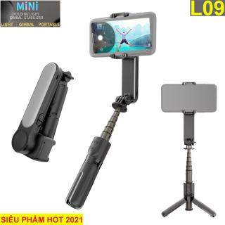 [ TOP TÌM KIẾM ] Mua Gimbal Loại Nào Tốt-Giá Rẻ, Gậy Selfie Chống Rung Điện Tử Gimbal L09 Kiêm Tripod-Bluetooth 4.0, Điều Khiển Từ Xa, Quay Video Mượt Mà-Chụp Hình Ảnh Đẹp, Sắc Nét, Xoay 360 Độ, Pin Lâu, Làm Vlog, Quay Tiktok-Youtube thumbnail