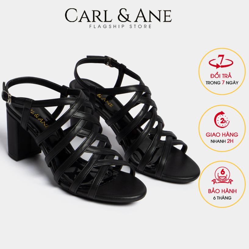 Carl & Ane - Giày sandal chiến binh thời trang nữ gót cao 7cm CS001 (BA) giá rẻ
