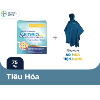 Thực Phẩm Bảo Vệ Sức Khoẻ Bổ Sung Lợi Khuẩn Antibio pro 100 Gói (10 Túi x 10 Gói Bột 1G) - Tặng 1 áo mưa Antibio thumbnail
