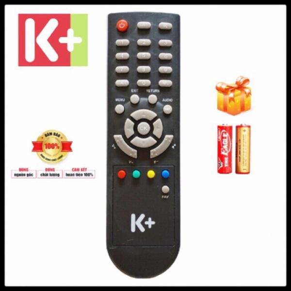 Điều khiển đầu thu K+ SD - Remote K+ SD Hàng zin bóc máy