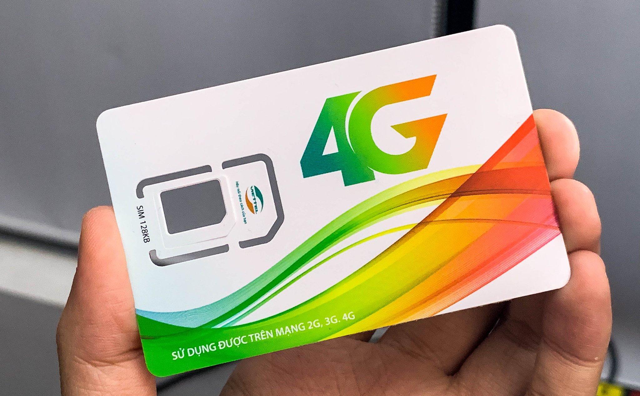 Giá Sim 4G 10 số  Viettel F90 miễn phí gọi nội mạng,tin nhắn .5GB/tháng.Sử dụng toàn quốc.