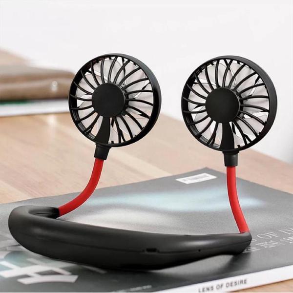 [XÃ HÀNG SALE 50%] Quạt USB cầm tay mini đeo cổ dành cho người tập thể dục thể thao hoặc tập GYM , dành cho người làm việcvăn phòng tiện lợi ( Giao màu ngẫu nhiên )