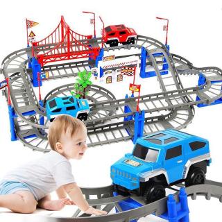 ( HÓT HÓT) Ô TÔ TÀU LƯỢN - Bộ Đồ Chơi Lắp Ráp Mô Hình Đường Ray Cực Hấp Dẫn Cho Bé. Đồ chơi trẻ em - Đồ chơi lắp ráp đường ray xe chạy, Bộ đồ chơi mô hình đường đua, thumbnail