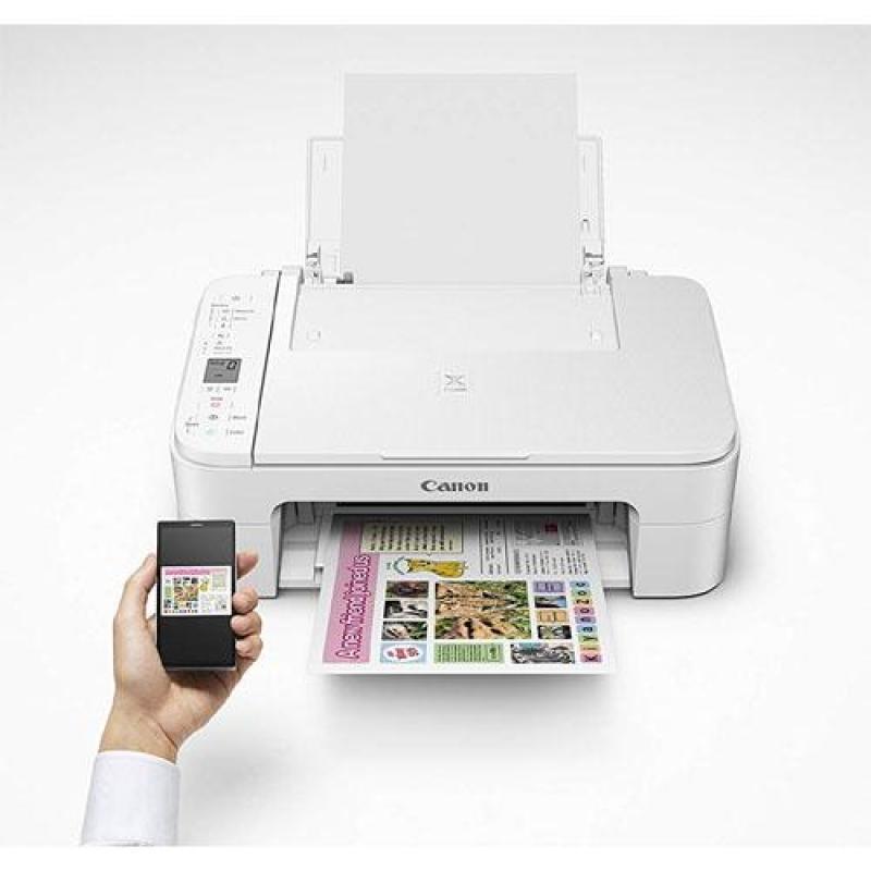 Canon TS3120 wifi , in màu ,scan photo - máy đã kèm mực