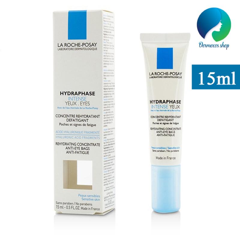 Kem dưỡng mắt giảm nếp nhăn, bọng mắt, thâm quầng La Roche Posay Hydraphase Intense Eye 15ml DMCMP018 giá rẻ