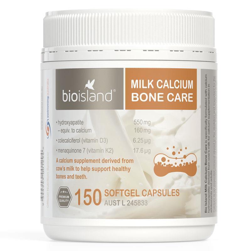 Canxi sữa bò Bone Care Bioilsand 150 viên