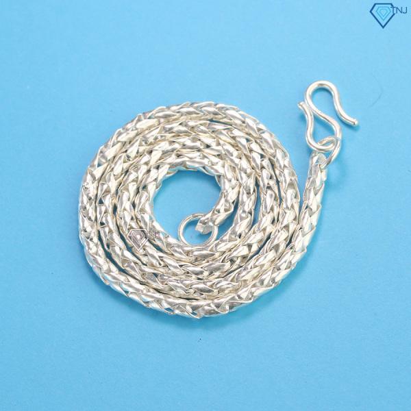 Giá bán Dây chuyền bạc cho bé trai vảy rồng DTA0002 - Trang Sức TNJ