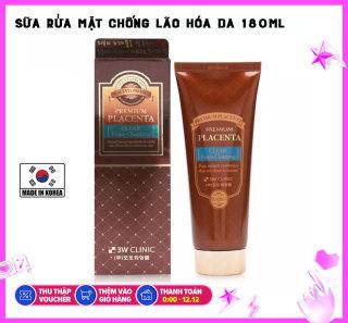 Sữa Rửa Mặt Chiết Xuất Nhau Thai 3W Clinic Premium Placenta Clear Foam Cleansing (180ml) thumbnail